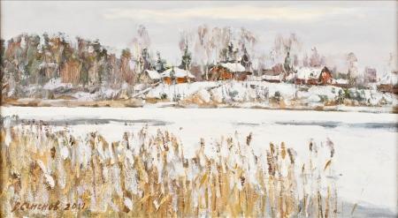 Первый снег. 2011г.