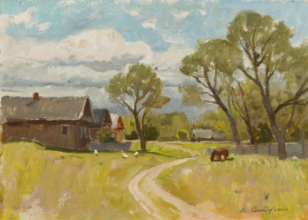 Деревня летом. 2006 год