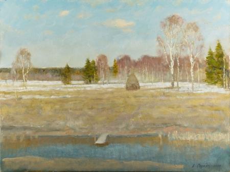 Весеннее поле.  2008 год