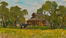 Мой дом в деревне Дорожкино. 1987г.