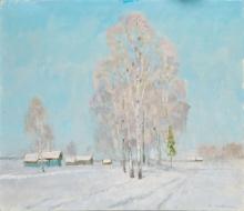 Морозный день. 2010г.