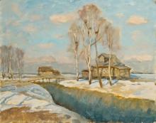 На краю деревни Калошино. 2010г.