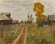 Деревня Орша. 1975 год