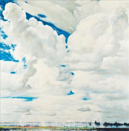 Небо над Голланиеей.