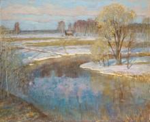 Весенняя река. 2005г.