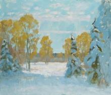 Ранний снег.  2008г.